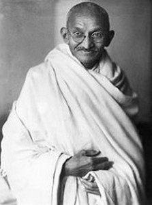 Mahatma Gandhi Zitate Aphorismen Lebensweisheiten